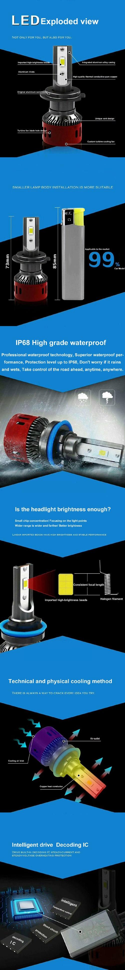 H4 Led Car Lights – Factory Wholesale Price - Earn Money Back